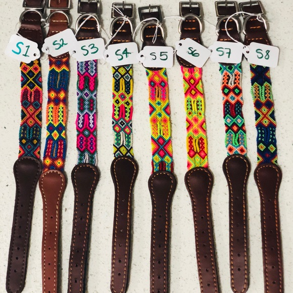 Other - ARTESANAL MEXICAN HAND MADE PET COLLARS || SMALL